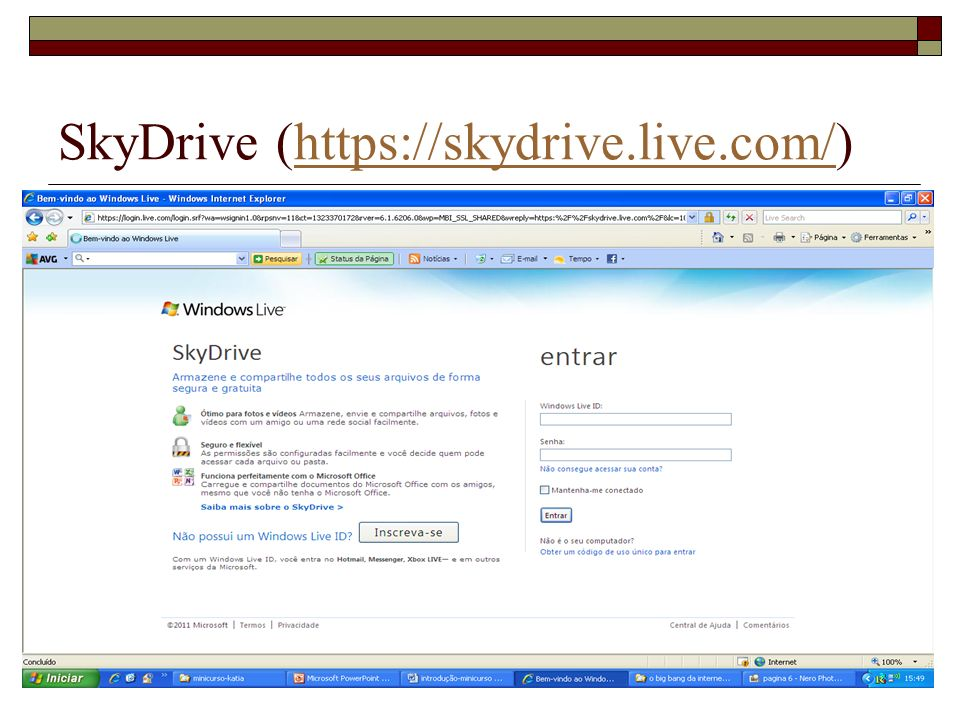 SkyDrive (https://skydrive.live.com/)