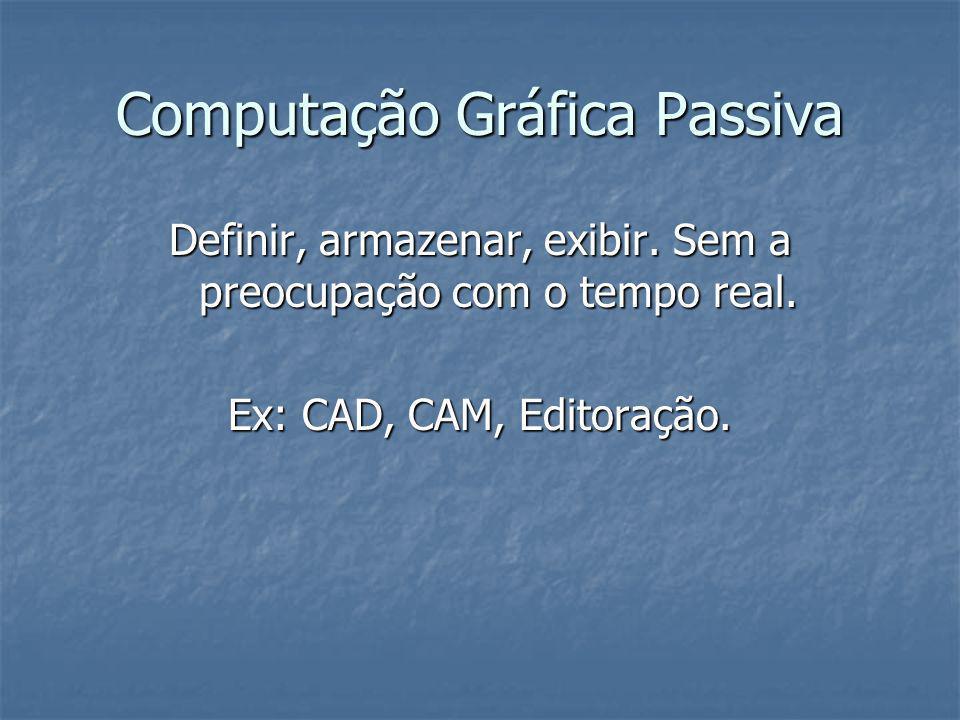 Computação Gráfica Passiva