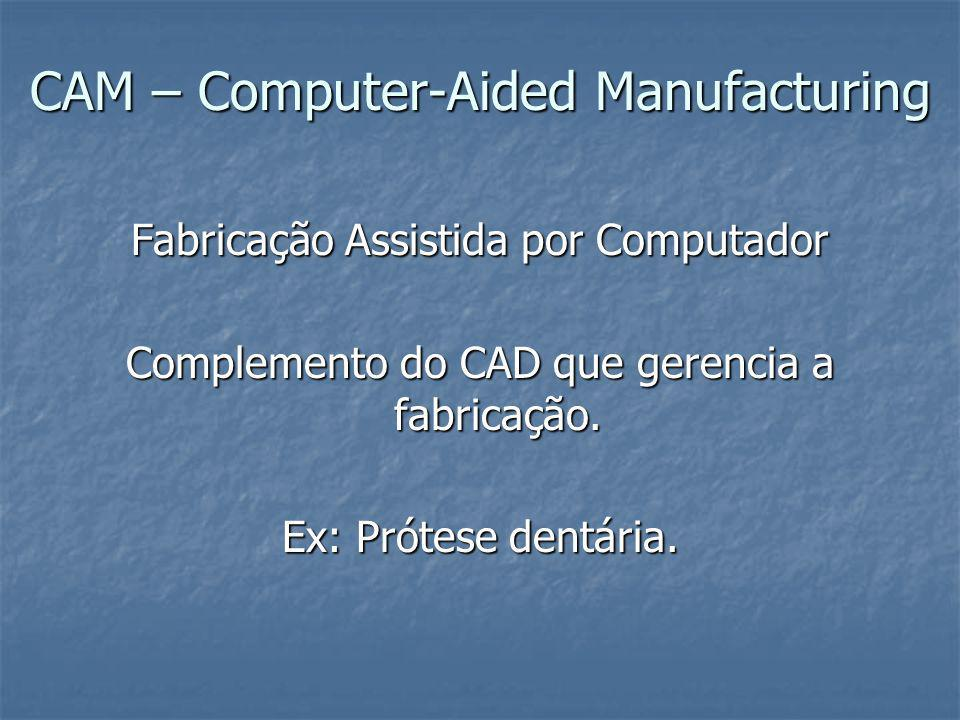 CAM – Computer-Aided Manufacturing