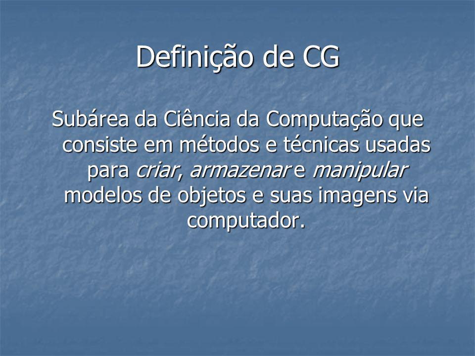 Definição de CG