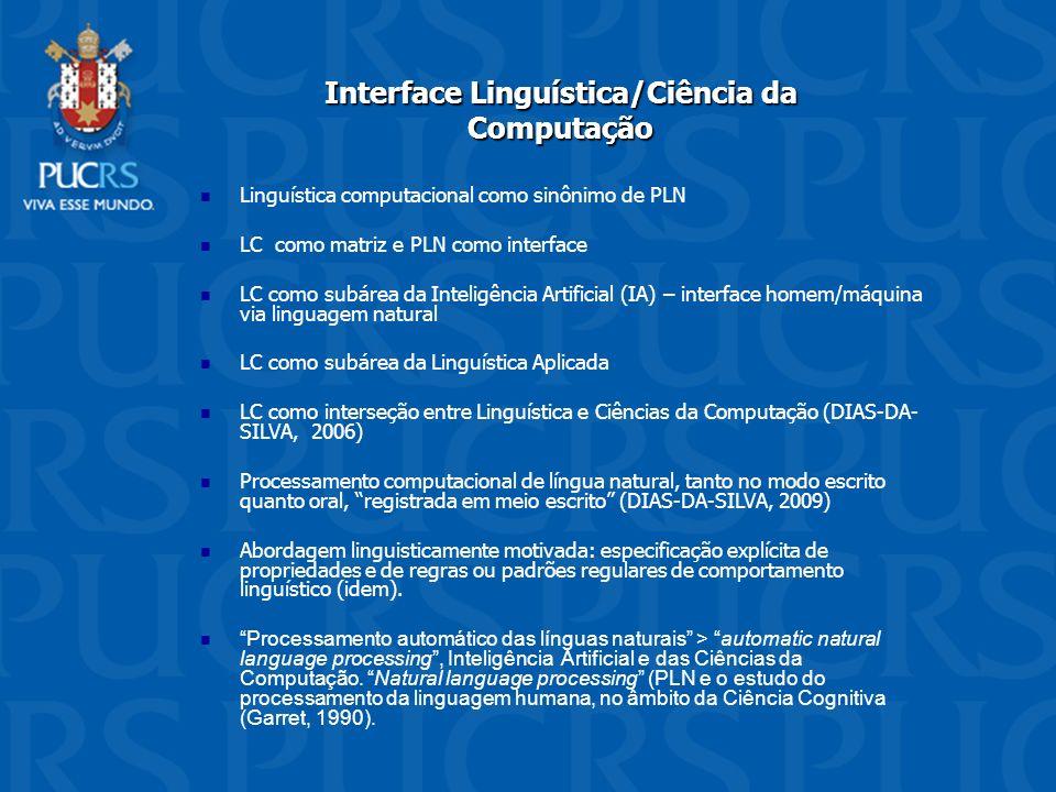 Interface Linguística/Ciência da Computação