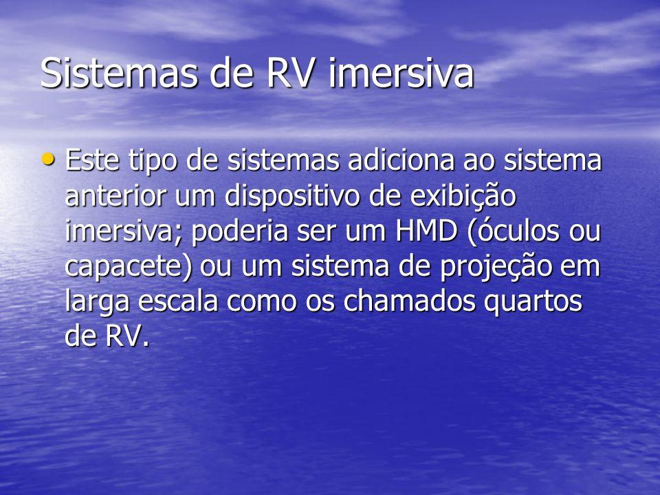 Sistemas de RV imersiva