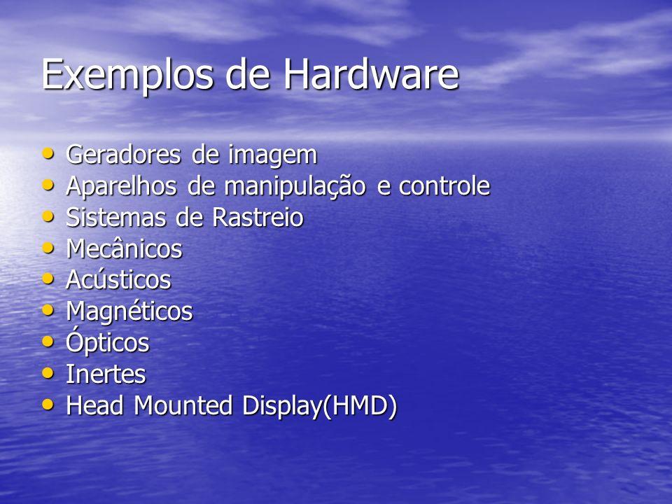 Exemplos de Hardware Geradores de imagem