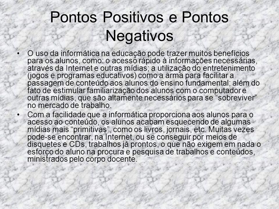 Pontos Positivos e Pontos Negativos