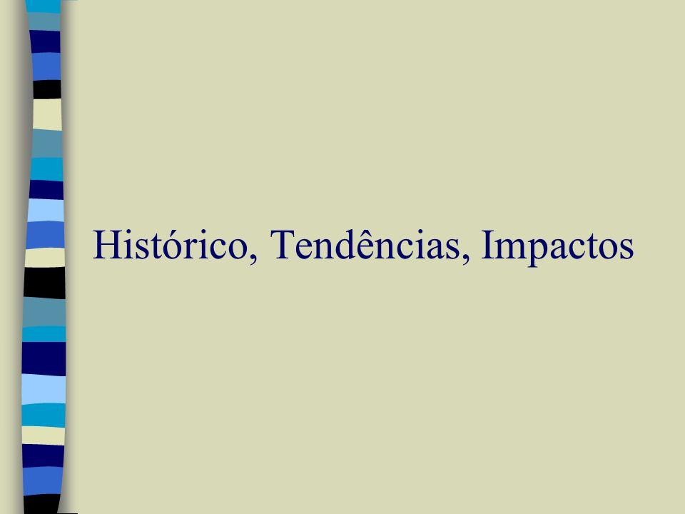 Histórico, Tendências, Impactos