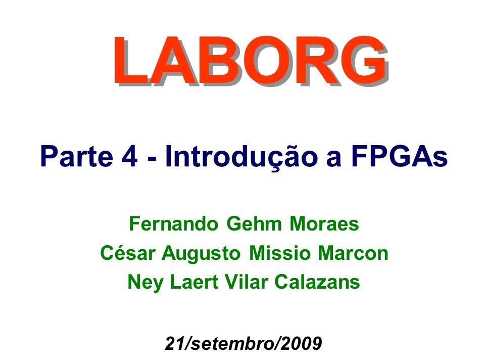 Parte 4 - Introdução a FPGAs