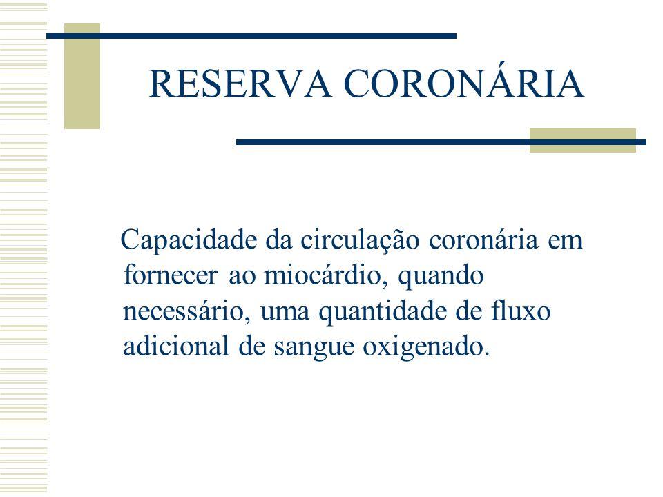 RESERVA CORONÁRIA