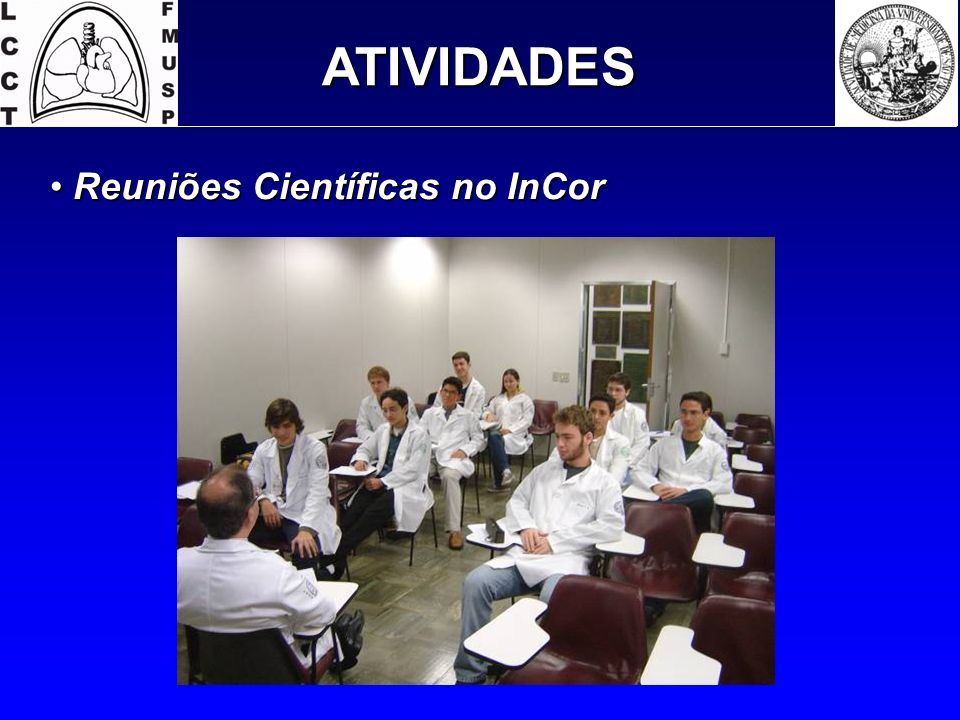 ATIVIDADES Reuniões Científicas no InCor