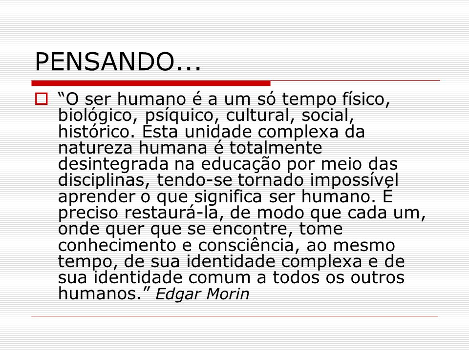 PENSANDO...