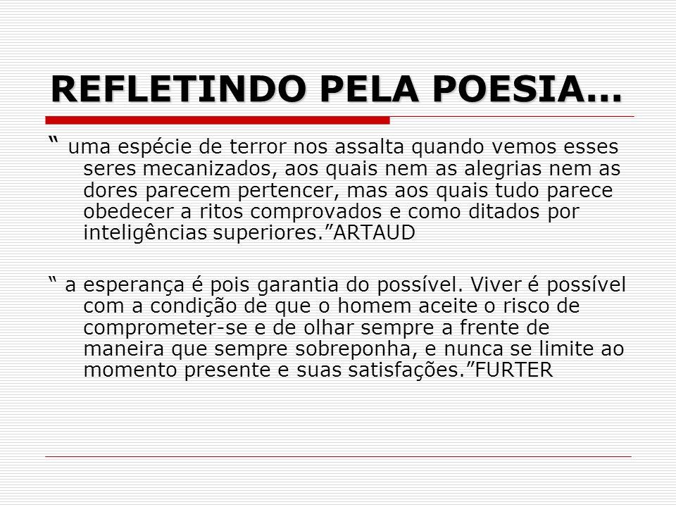 REFLETINDO PELA POESIA...
