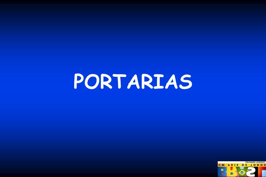 PORTARIAS