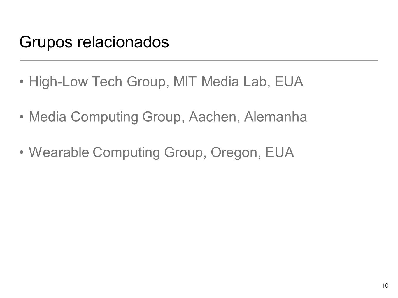 Grupos relacionados High-Low Tech Group, MIT Media Lab, EUA