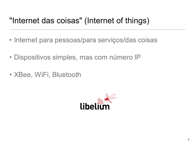 Internet das coisas (Internet of things)