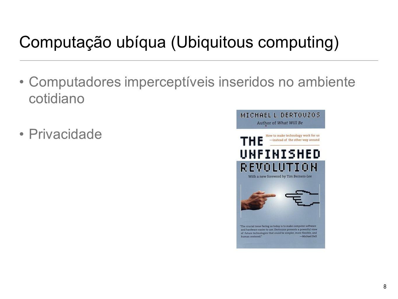 Computação ubíqua (Ubiquitous computing)