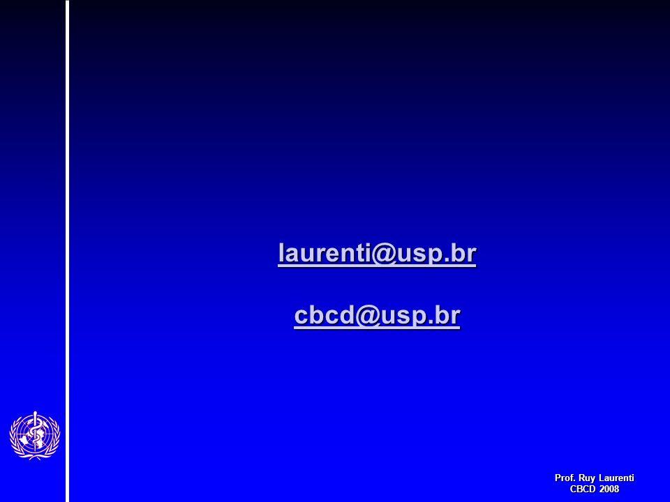 laurenti@usp.br cbcd@usp.br