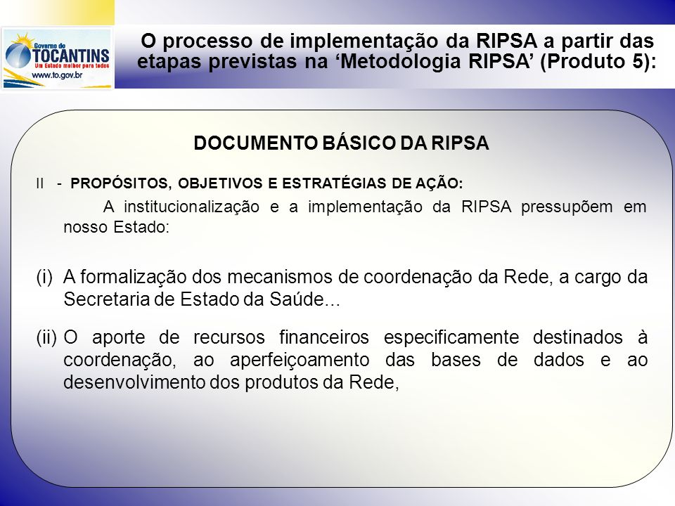 DOCUMENTO BÁSICO DA RIPSA