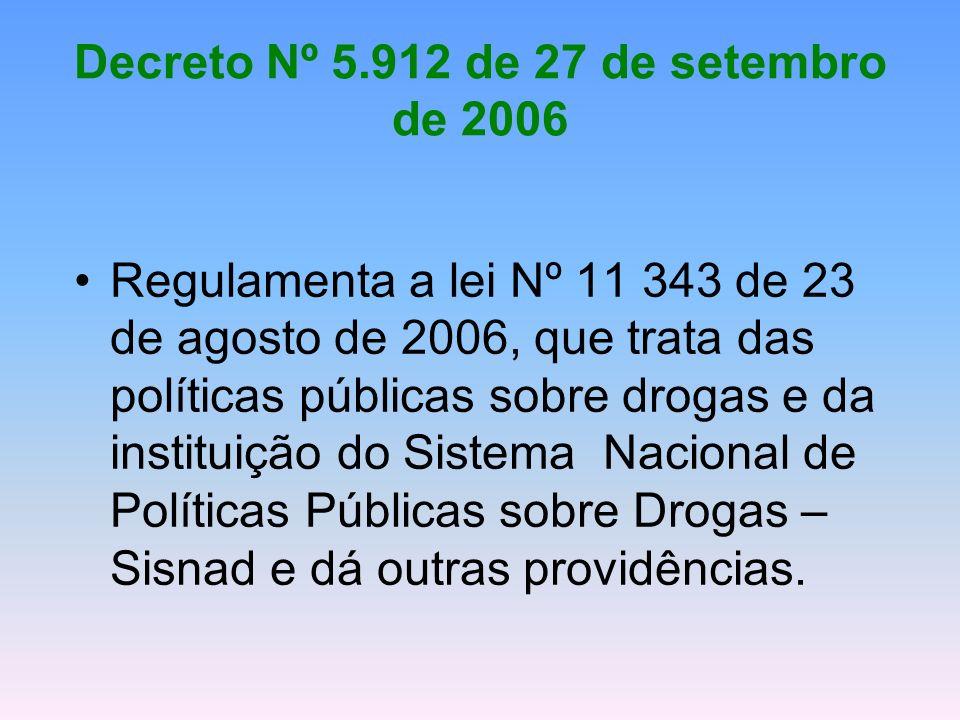 Decreto Nº 5.912 de 27 de setembro de 2006
