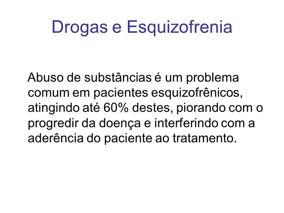 Drogas e Esquizofrenia