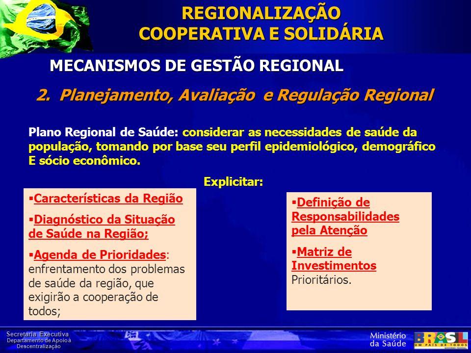 MECANISMOS DE GESTÃO REGIONAL