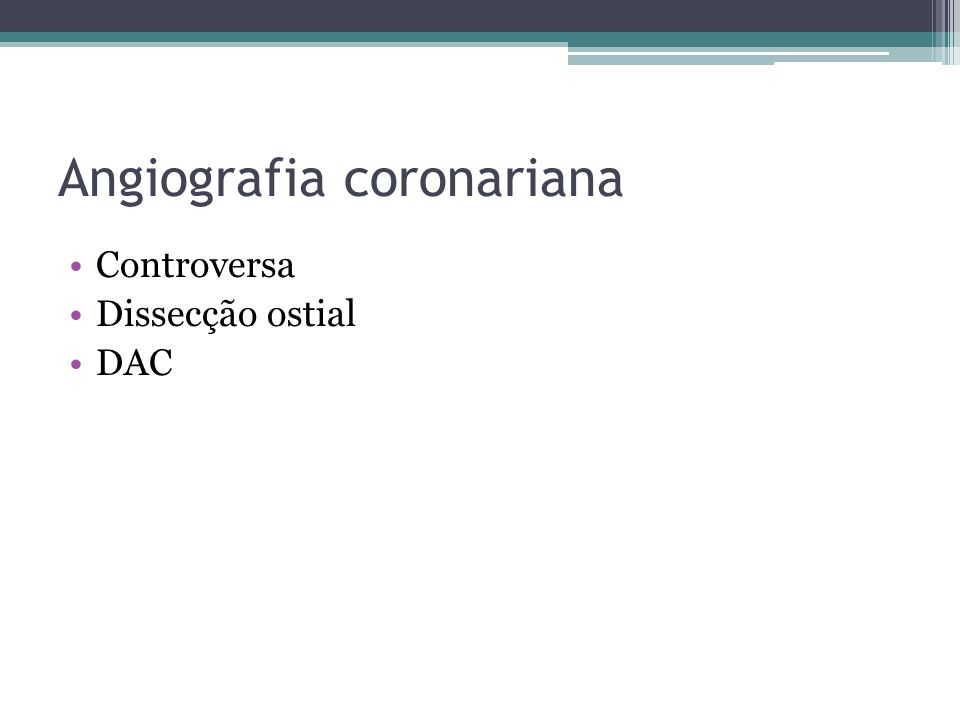 Angiografia coronariana