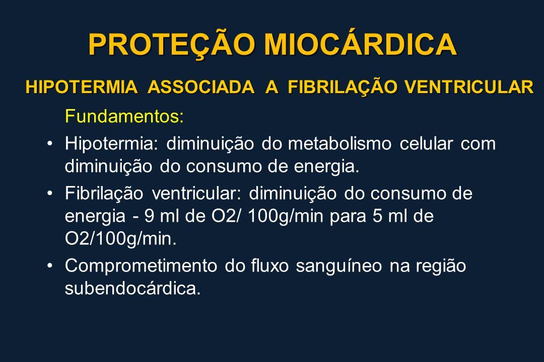 PROTEÇÃO MIOCÁRDICA Fundamentos: