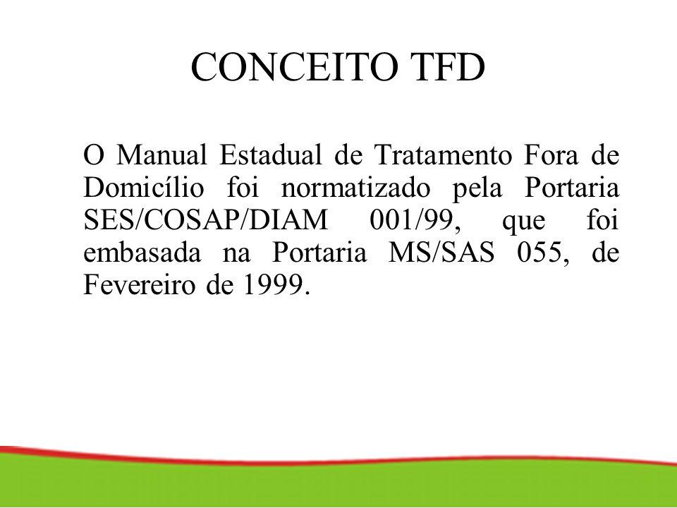 CONCEITO TFD