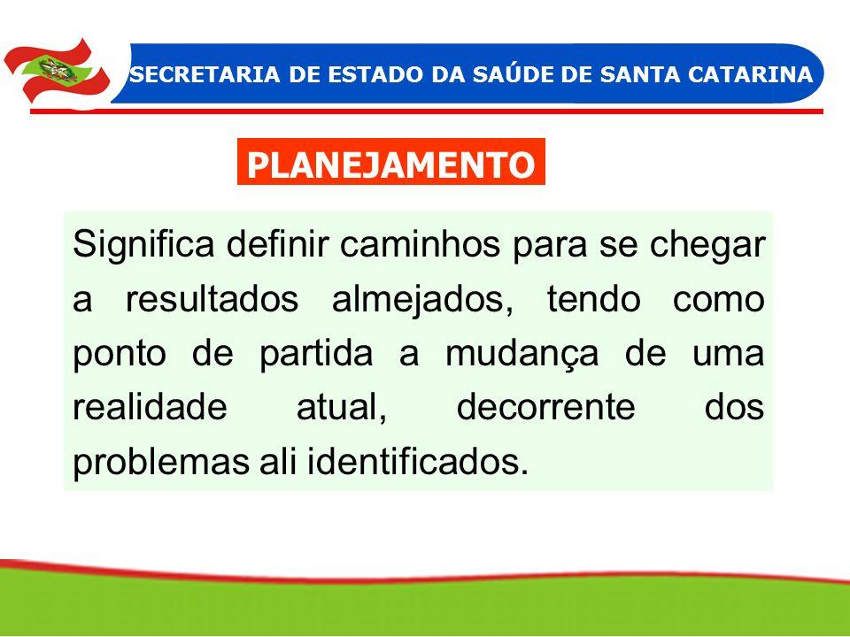 SECRETARIA DE ESTADO DA SAÚDE DE SANTA CATARINA