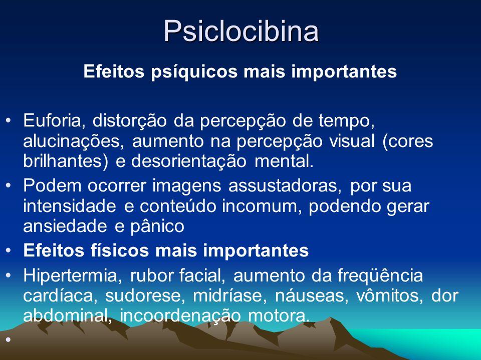 Efeitos psíquicos mais importantes