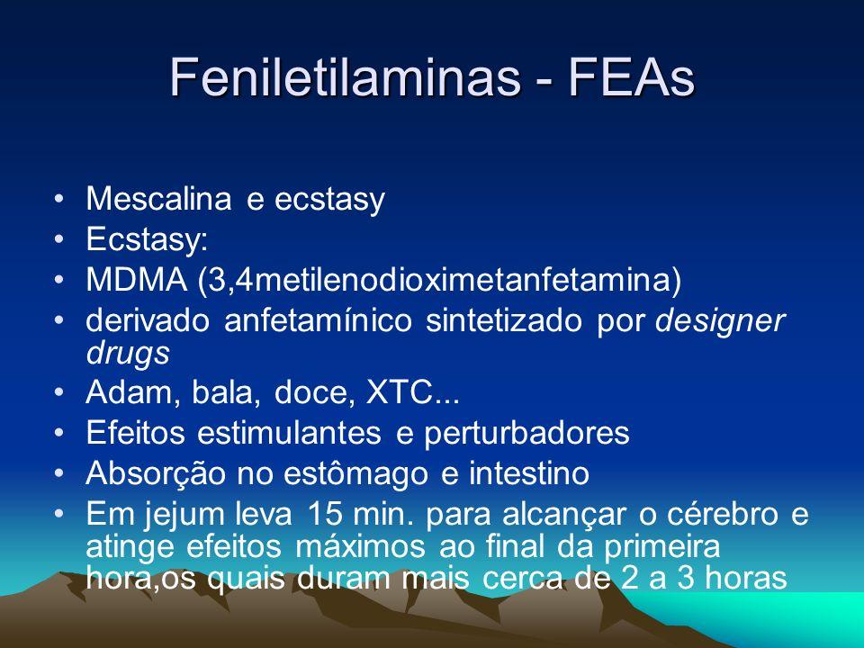 Feniletilaminas - FEAs