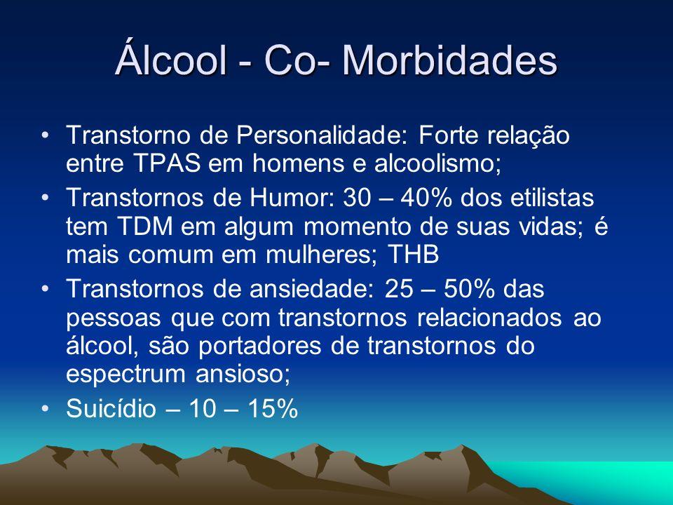 Álcool - Co- Morbidades