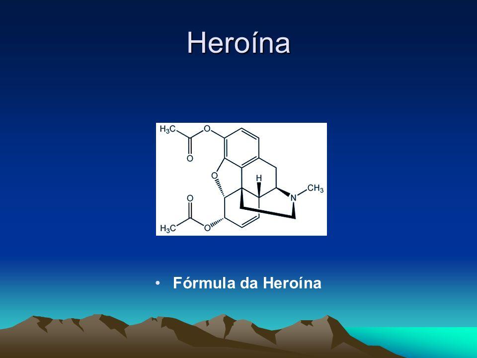 Heroína Fórmula da Heroína