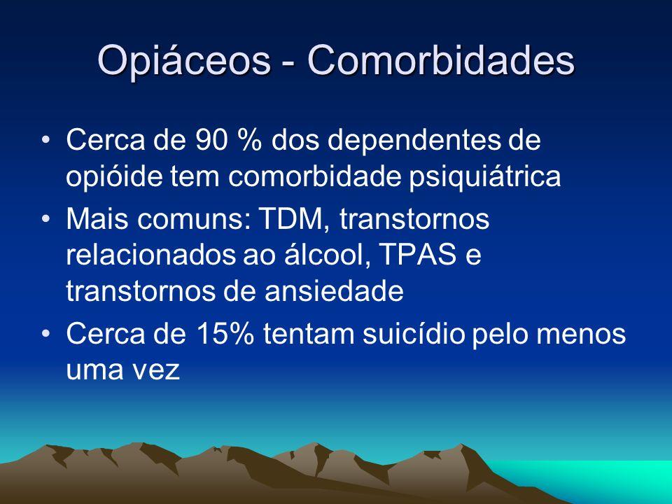 Opiáceos - Comorbidades