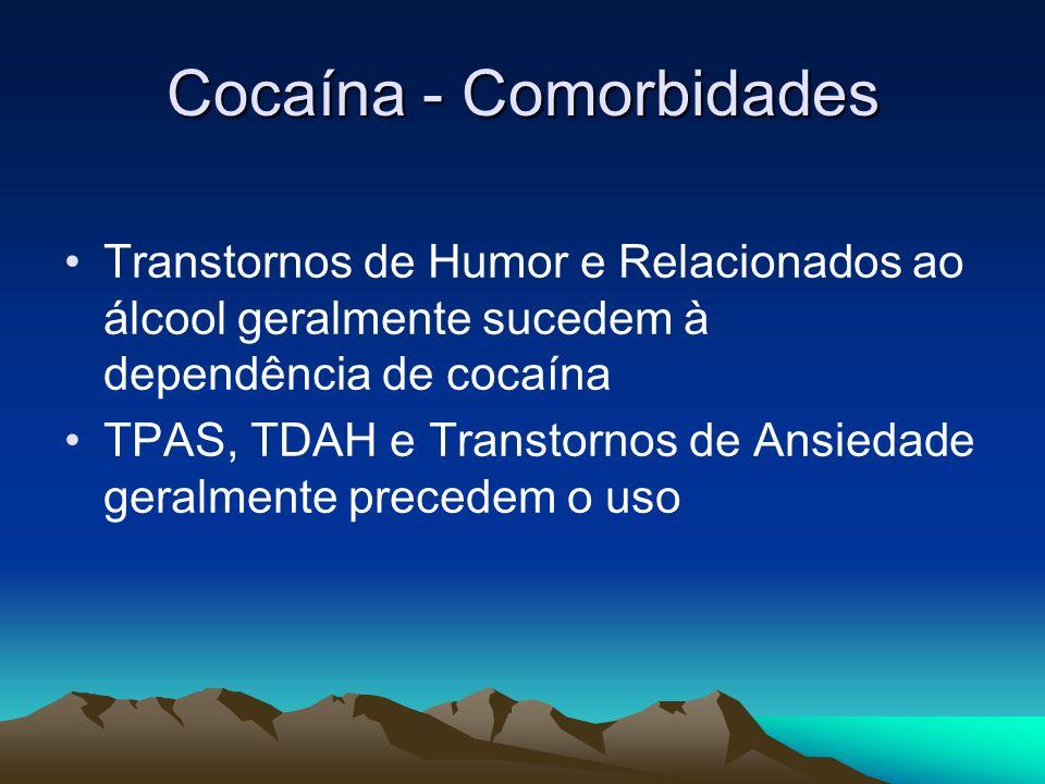 Cocaína - Comorbidades