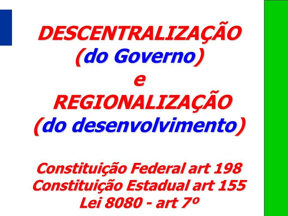 Constituição Federal art 198 Constituição Estadual art 155