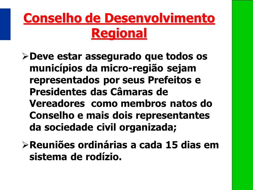 Conselho de Desenvolvimento Regional
