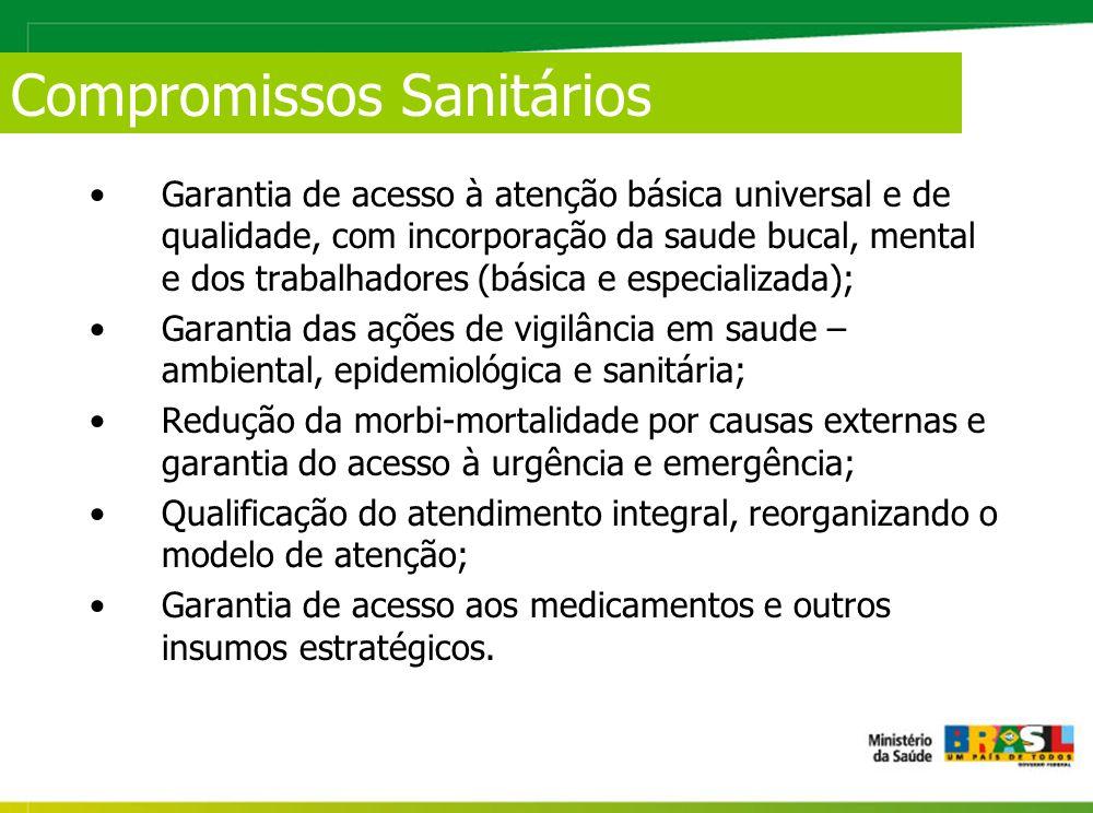 Compromissos Sanitários