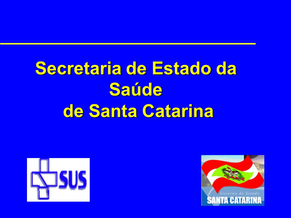 Secretaria de Estado da Saúde