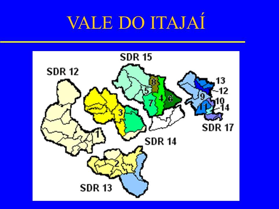 VALE DO ITAJAÍ