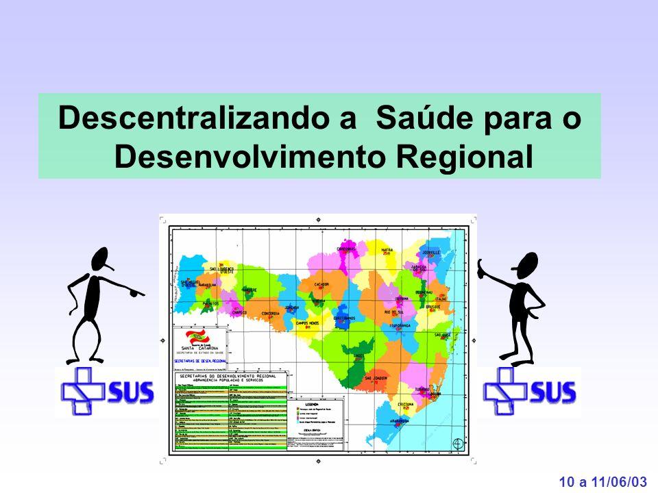 Descentralizando a Saúde para o Desenvolvimento Regional