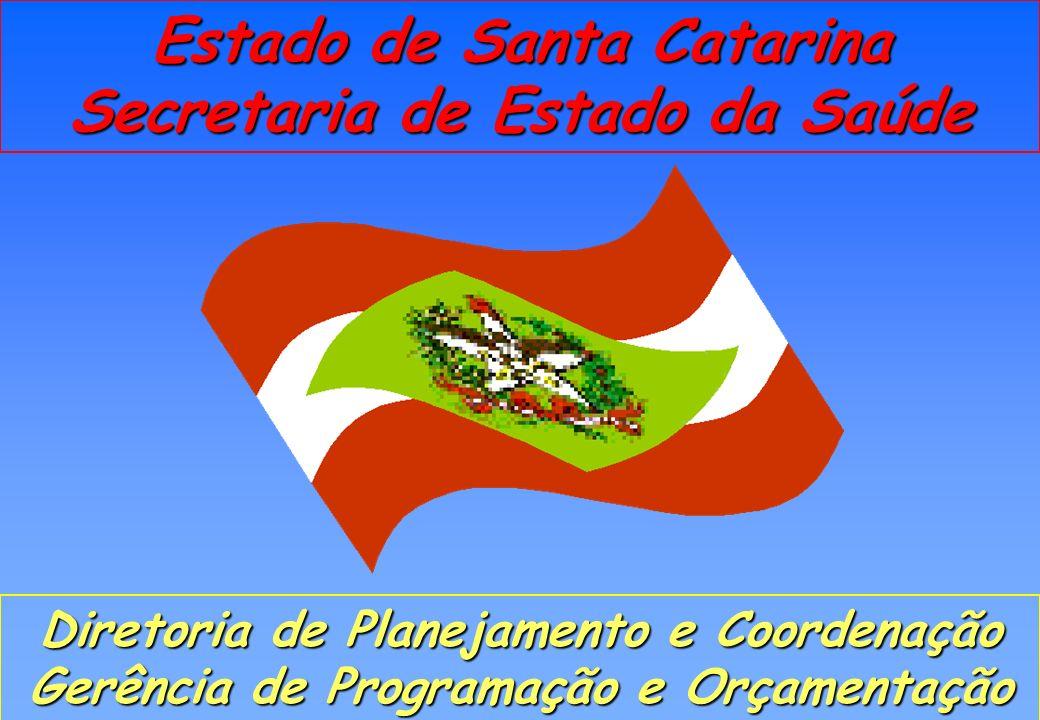 Estado de Santa Catarina Secretaria de Estado da Saúde