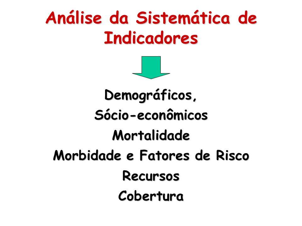 Análise da Sistemática de Indicadores