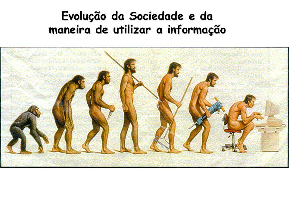 Evolução da Sociedade e da maneira de utilizar a informação
