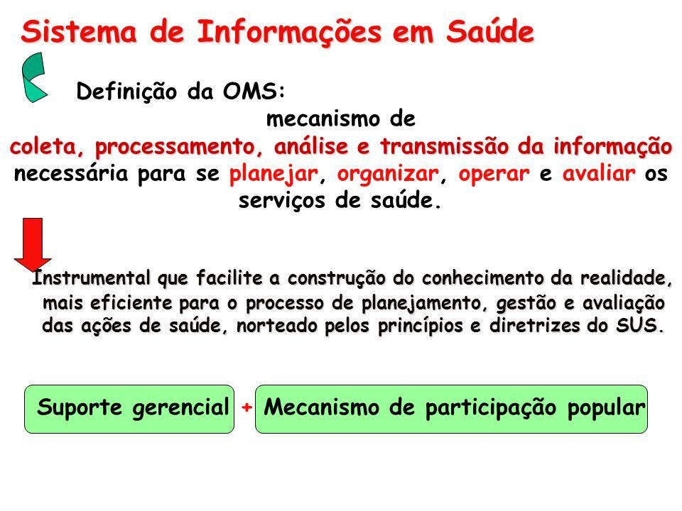 Sistema de Informações em Saúde