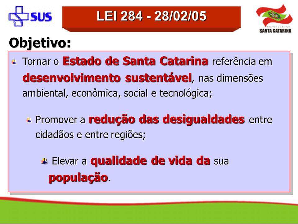 LEI 284 - 28/02/05 Objetivo: