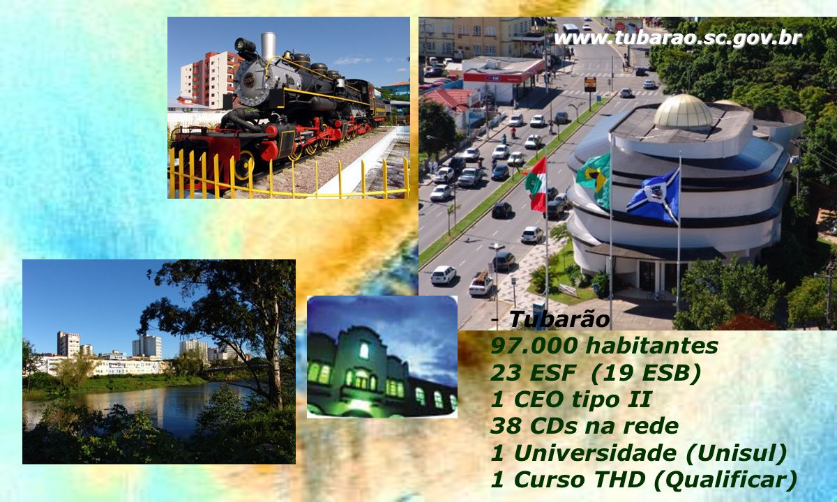 1 Universidade (Unisul) 1 Curso THD (Qualificar)