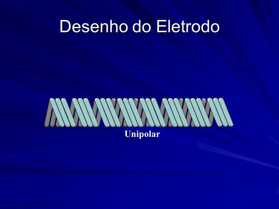 Desenho do Eletrodo Unipolar