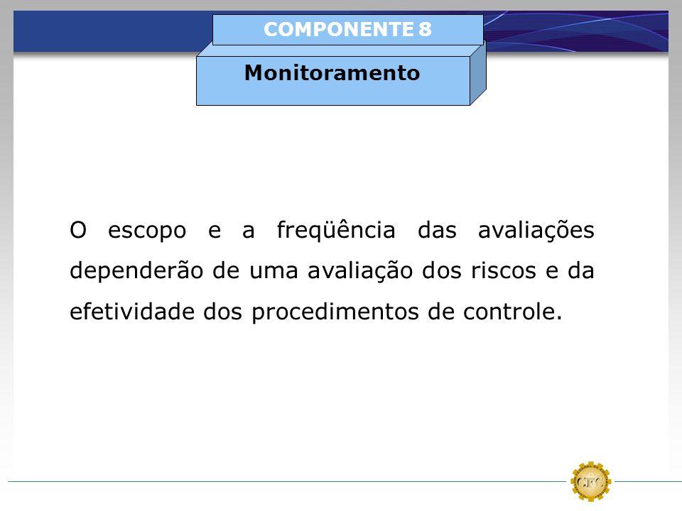 Monitoramento COMPONENTE 8.