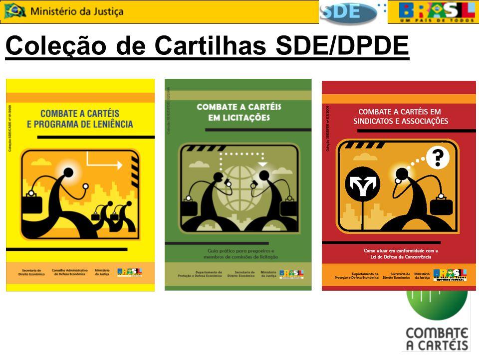 Coleção de Cartilhas SDE/DPDE