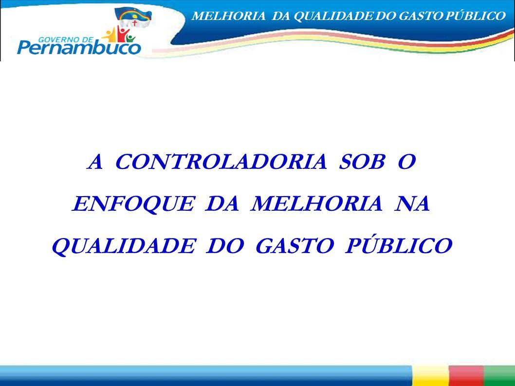 A CONTROLADORIA SOB O ENFOQUE DA MELHORIA NA QUALIDADE DO GASTO PÚBLICO