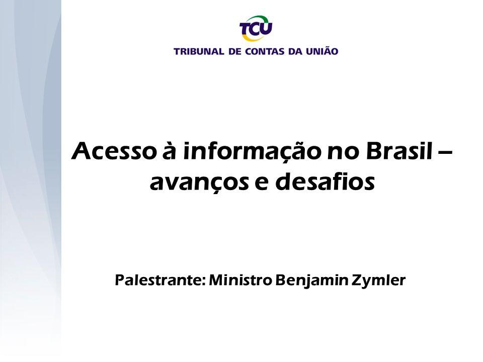 Acesso à informação no Brasil – avanços e desafios